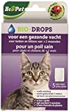 Bsi BioPet bio-drops Flöhe ohne Insektizid für Katzen und Kätzchen von + 2Monate