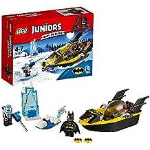 Lancha motora de Lego de Batman contra el Sr. Frio
