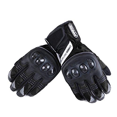 Madbike Motorrad-Handschuhe, wasserdicht mit Karbonfaserschutz - 2