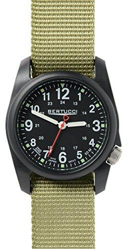 Bertucci 11014greeni Nylon Unisex quadrante nero smart watch
