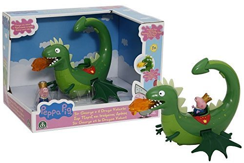 Giochi Preziosi Peppa – Princess Sir George et Le Dragon avec Sons