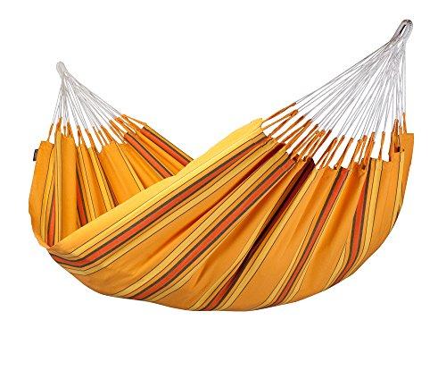 LA SIESTA - Kolumbianische Doppel-Hängematte Currambera apricot