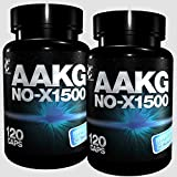 AAKG NoX 1500- 240 Kapseln, Reines A-AKG Arginin-Alpha-Keto-Glutarat