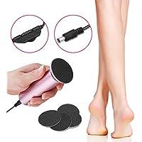 Elektrischer Hornhautentferner Fußfeile, mit Ersatz Schleifpapier Scheiben, Fußpflege-Werkzeug zum Entfernen von... preisvergleich bei billige-tabletten.eu