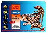 sera 02207 med Professional Diagnose-Set zum Nachweis von Endoparasiten bei Reptilien durch kostenlose Kotanalyse im sera Labor
