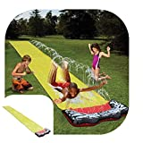 Nearthde Backyard Giant Water Slide-16 × 2.3ft Planschbecken Wasserrutsche für Outdoor...