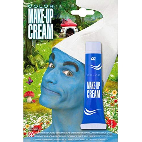 Blaue Schminke Schlumpf Make up Avatar Faschingsschminke blau (Avatar Fancy Dress Kostüm)