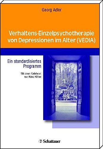 Cover »Verhaltens-Einzelpsychotherapie von Depressionen im Alter«