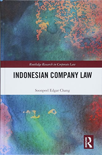 Indonesian Company Law (Routledge Research in Corporate Law)