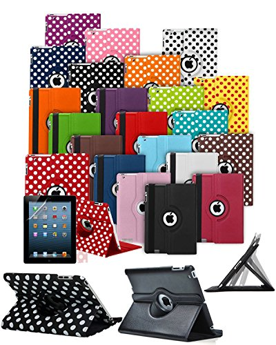 Coupon Matrix - For Amazon Kindle Fire HD 8 inch (5th Gen 2015) Tablet Case Cover with 360° Rotating and Stand Feature in HOT PINK ** Clearance SALE for Limited Time ONLY ** CHRISTMAS BARGAIN DEAL **