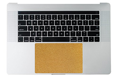 LTPGuard Golden sparkle macbook air and macbook pro Trackpad Touchpad Cover Skin Protector Sticker
