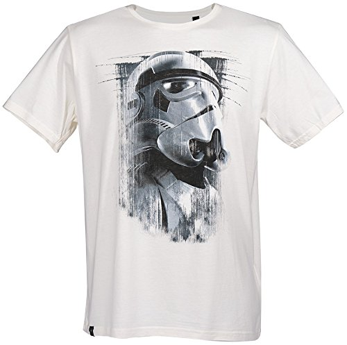 GOZOO Star Wars Rogue One T-shirt Uomo Imperial Stormtrooper Oil Paint Bianca XL