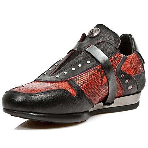 New Rock Hybrid Mehrfarbig Schuhe M.HY018-S3 Red