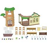 Sylvanian Families - 5105 - Ecole de la Foret - Maison de Poupée