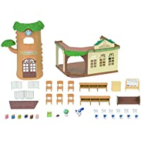 Sylvanian Families Country Tree School Mini muñecas y Accesorios, (Epoch 5105)