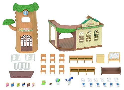 (Sylvanian Families 5105 Eichenhain Schule-Set, Mehrfarbig)