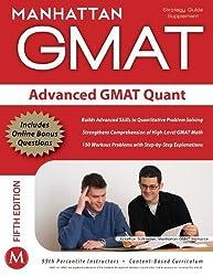 Advanced GMAT Quant (Gmat Strategy Guides) Csm Pap/Ps by Manhattan GMAT, - (2011) Paperback