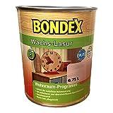 BONDEX Wachs-Lasur 0,75 L Kalkweiß 914