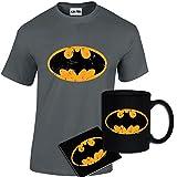 Best Funniest Shirts - Mens Funny Printed Batman DC Comics Logo Inspired Review