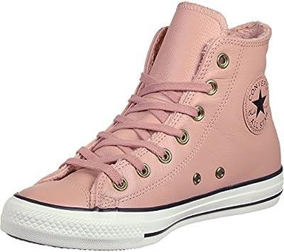 Converse All Star Winter Knit Fur Hi W Calzado pink/black