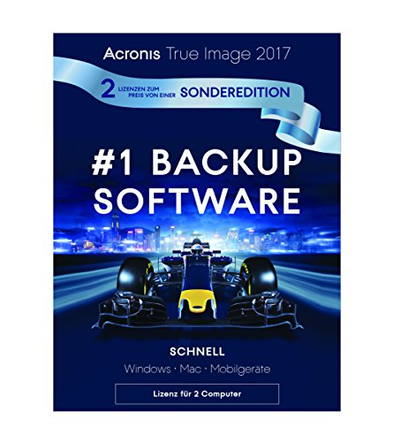 Acronis 4260019575395 True Image 2017/2PCs