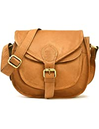 Mk Bags Brown Leather Cross-body Sling Bag For Women