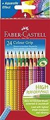 Idea Regalo - Faber-Castell 112424 Matita Colorata, 24 Pezzi