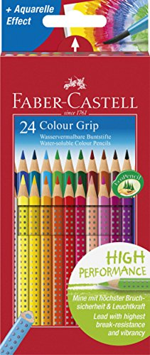 Faber-Castell 112424 - Farbstift Colour Grip Kartonetui ()