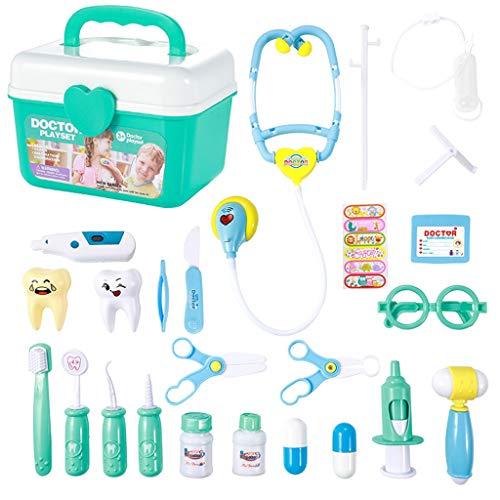Lernspielzeug Für Kinder , Chshe  Doktor Spielset Pretend Medical Set Fall Lerngeschenk, Rollenspiel Für Kinder (Bunt) (Schmuck-box Für Kinder Im Alter Von 8)