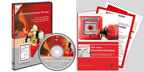 Brandschutzpaket: Arbeitshilfen und Brandschutzordnung, 1 CD-ROM m. 1 Beilage