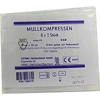 MULLKOMPRESSEN 10x10 cm steril 12fach BW 10 St Kompressen preisvergleich bei billige-tabletten.eu