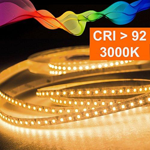 ✅ 0,5m- 20m LED RGB-Band 3-Chip 5050 IP20 22,8W//m 24Vdc 96 LED//m