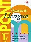 Pont. Quadern De Llengua. Canvi De Curs 1 (Pont (canvi De Curs))