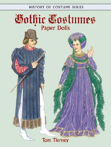 Kind Kostüm Creative - Gothic Costumes Paper Dolls (History of Costume)