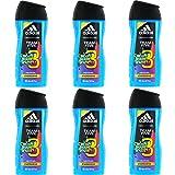 6 x 250ml Adidas Team Five Duschgel = 1500ml