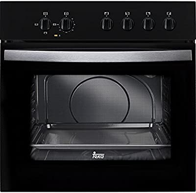 Teka HE 490 ME - Horno (59 L, 2550 W, Eléctrico, 2593 W, 220-240 V, 50 Hz) Negro