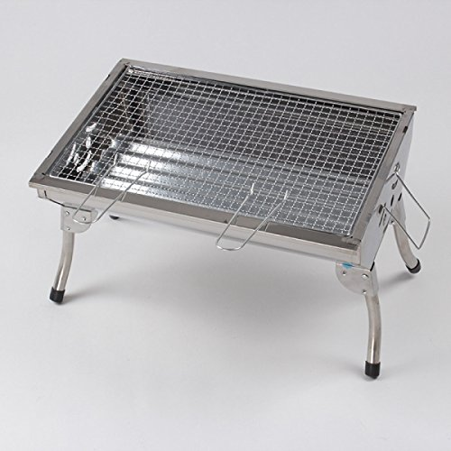 Outdoor Grill Edelstahl Grill Grill Startseite Grill Portable Barbecue Grill Holzkohle Grill