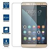 Beiuns Film Protection d'écran en Verre trempé Ultra Dur Protecteur d'écran pour Huawei MediaPad M2 8.0 (Ecran: 8 Pouces)