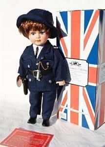 Leonardo Collection 25,4cm Old Fashioned policier Vintage Porcelaine Poupée bnew