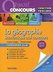La géographie économique aux concours : Catégorie A et B