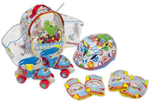 Spiderman Mini Roller in Rucksack Set-Saica Toys 9408