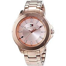Tommy Hilfiger Watches Damen-Armbanduhr KIMMIE Analog Quarz Edelstahl beschichtet 1781414