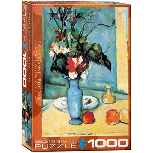 Eurographics 03802 - Cézanne: Il Vaso Blu - Puzzle 1000 Pezzi