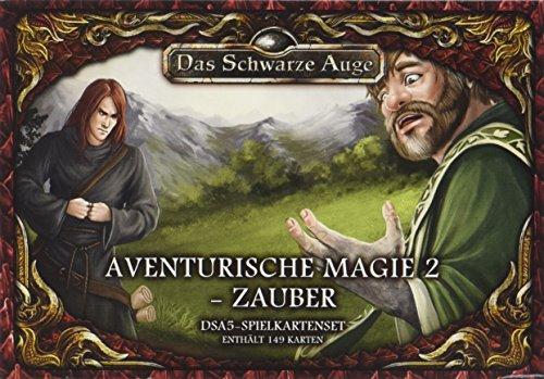 dsa5 spielkartenset DSA5 Spielkartenset Aventurische Magie 2 Zauber (Das Schwarze Auge - Zubehör)