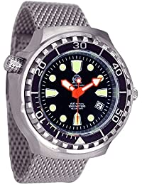"""Automático XL Diver """"Miyota movt."""" 46 mm 1000 m Tauchmeister T0245MIL"""