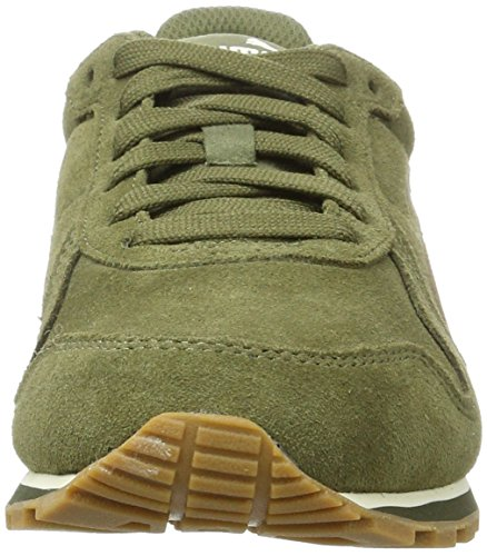 Puma St Runner SD, Sneakers Basses Mixte Adulte Vert (Olive Night-olive Night)