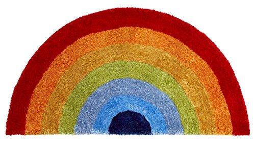 (HomeLinenStore modernes Design Rainbow Thema Hand getuftet Bright Farbe Kinder Teppiche, Mehrfarbig–70x 140cm)