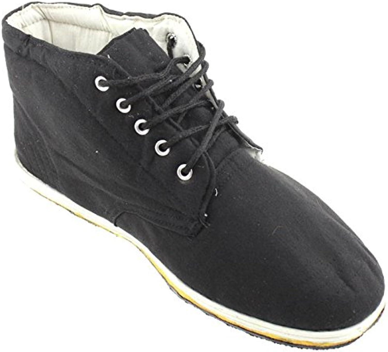 Los hombres zapatos de invierno alto cilindro caliente, algodón negro botas,Cuarenta y seis