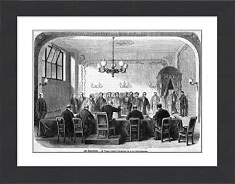 Framed Print Of Thiers Votes