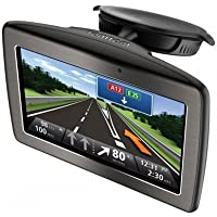 """TomTom Via 110 Europe GPS Sat Nav System, 4.3"""" touchscreen display,Featuring advanced lane assistance with 3D, 4GB internal flash memory"""